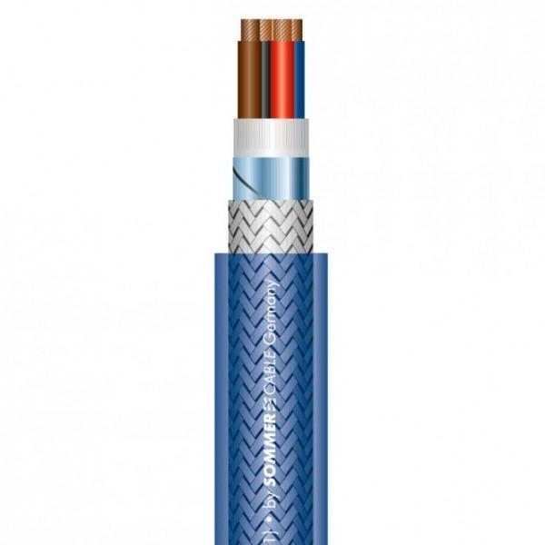 Sommer Cable QUADRA BLUE Speakermulticore blau