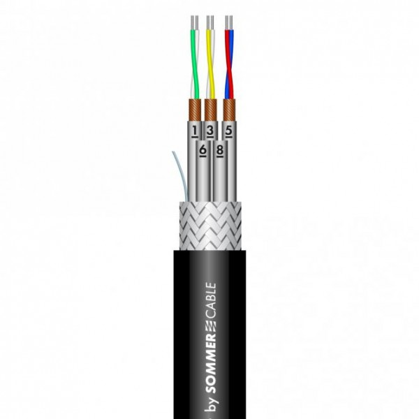 Sommer Cable Aura DMCK 10 PUR FRNC AES/EBU Compact schwarz