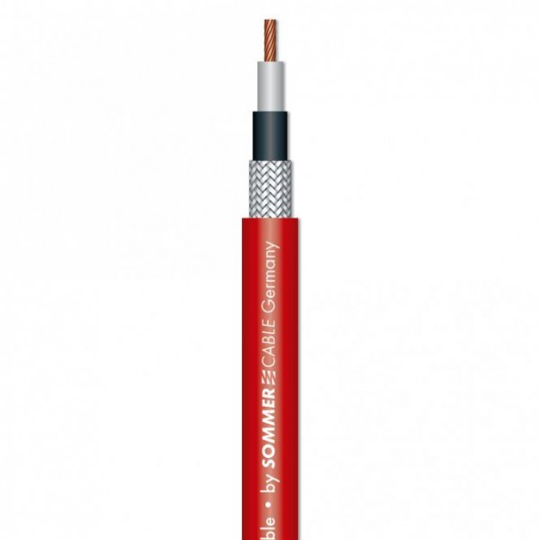 Sommer Cable TriCone XXL Instrumentcable LLC rot